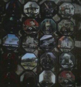 Космо жетоны,Star Wars.