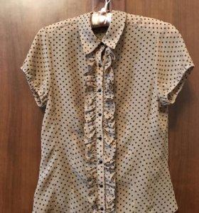 блузка в горошек incity, 42 (36)