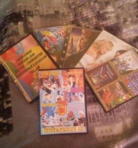 Компактные диски (dvd)