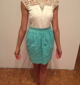 Платье мини xs(40-42)