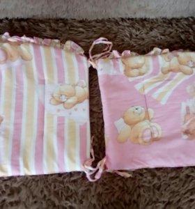 Бортики для детской кроватки...
