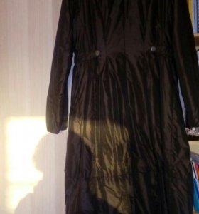 Пальто длинное Greenstone
