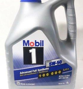 Моторное масло Mobil 5W50 4L