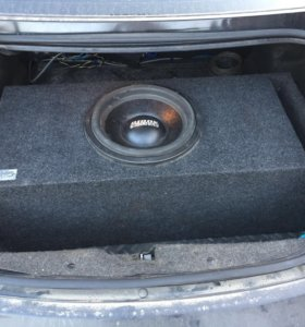 Sundown Audio SA12 d2, короб 30-36 герц