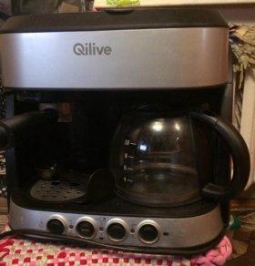 Кофеварка комбинированная