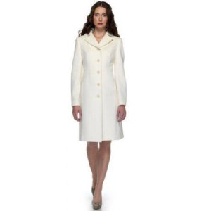 Пальто белое новое 42-44