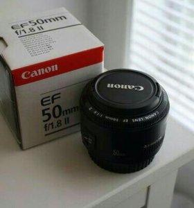 Canon ef 50/1.8 новый