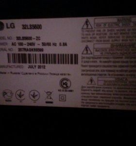 Телевизор LG 32LS5600, не работает матрица