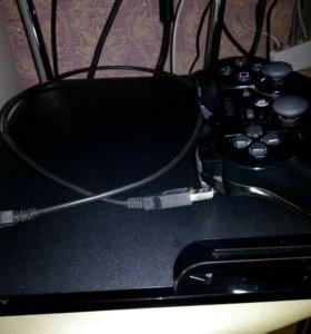 PlayStation 3 slim прошитая 120гб