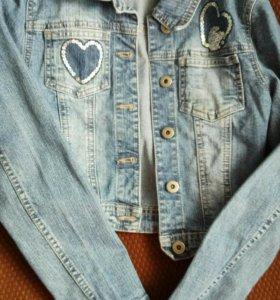 Ветровка и джинсовка