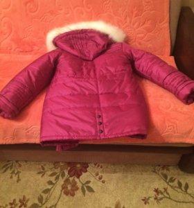Пальто(зимняя,новая)