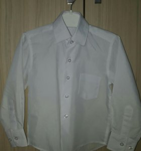 Рубашка белая (новая)