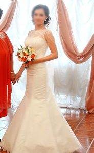 """Изящное свадебное платье """"Рыбка"""""""