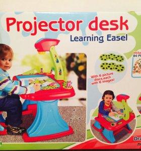 """Набор """"Стол с проектором+стул"""" новый"""