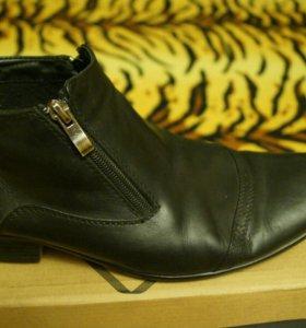 Обувь кожанный