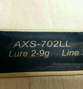 Спиннинг Zetrix Ambition-X AXS-702LL