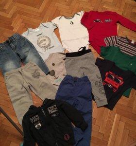 Пакет вещей мальчику 86-92