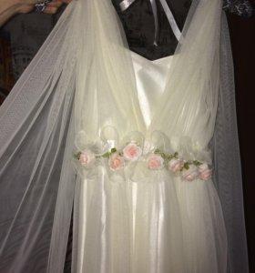 Длинное  сказочное платье
