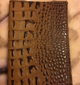 Обложка для паспорта новая кожа под крокодила