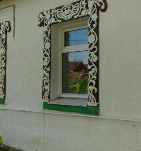 Обналичники на окна ручной работы