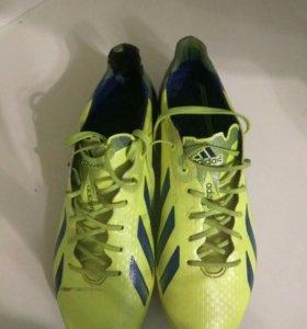 Бутсы adidas adizero f50 (39 размер)