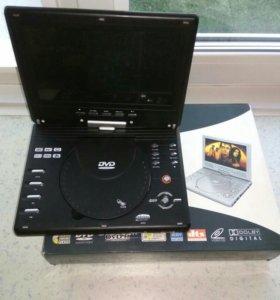 Телевизор+DVD+игровая приставка 3 в одном