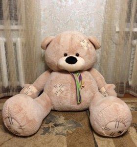 Мягкая игрушка большой медведь очень мягкий