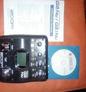Гитарный процессор zoomG2nu