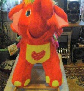 Слон - качалка