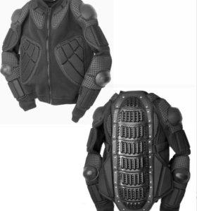 Комплект защиты ( жилет+спина) black fair , ОТС