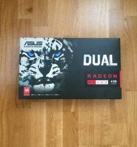 Видеокарта RADEON RX 480 4gb