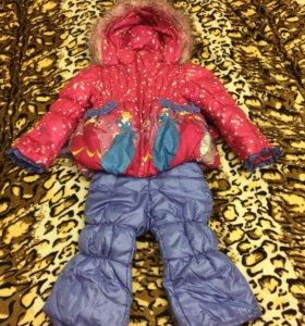 Костюм, куртка, комбинезон на девочку зимний