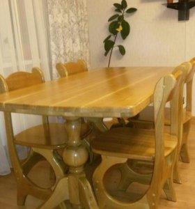 Комплект стол и стулья