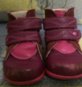 Ботиночки детские  18 размер