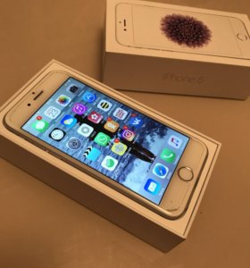 iPhone 6 silver с Touch ID
