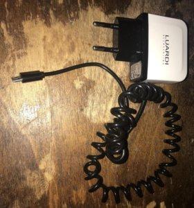 Зарядка LUARDI Micro USB-кабель