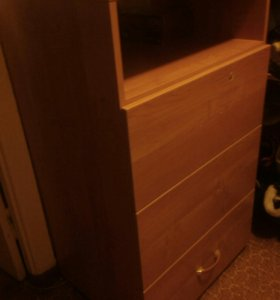 Комод с глубокими ящиками