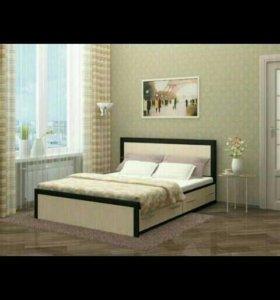 Кровать двухспальная МОДЕРН с ящиками!