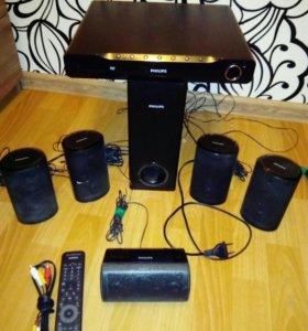 DVD система 5.1 Philips