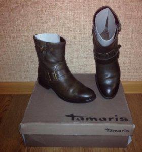 Ботинки Tamaris кожа натуральная