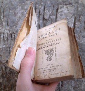 Антикварная книга 16 века, 1585 год, латынь