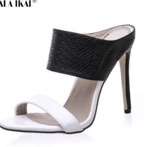 Новые туфли сабо