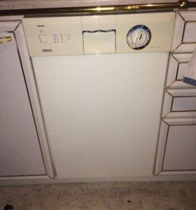 Посудомоечная машина zanussi рабочая