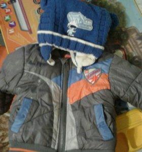 Куртка, шапка