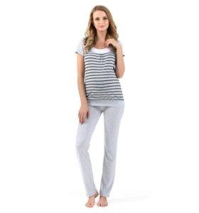 Костюм брюки/туника для беременных/кормящих