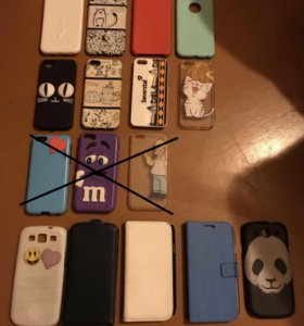 Чехлы на iPhone 6, 5s, 4s и Samsung galaxy s3