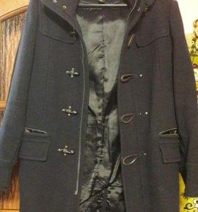 пальто муж. с капюшоном