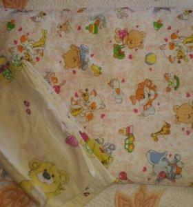 Подушка в кроватку