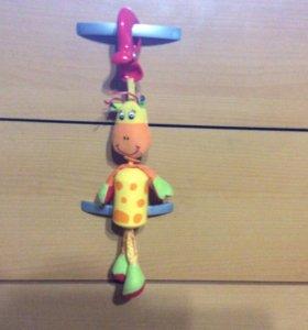 Игрушки подвески Tiny Love, Lamaze, Skip Hop