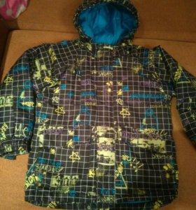 Куртка на рост 122-128, штаны зимние 122-128